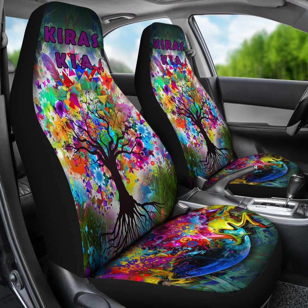 KIRAS KIA Car Seat Covers Purple