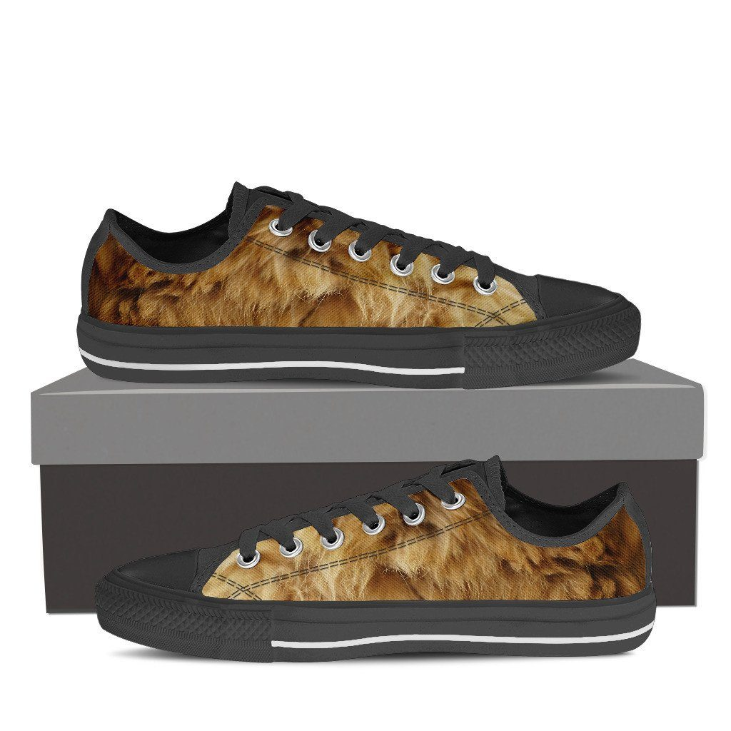 Lion Fur Low Top