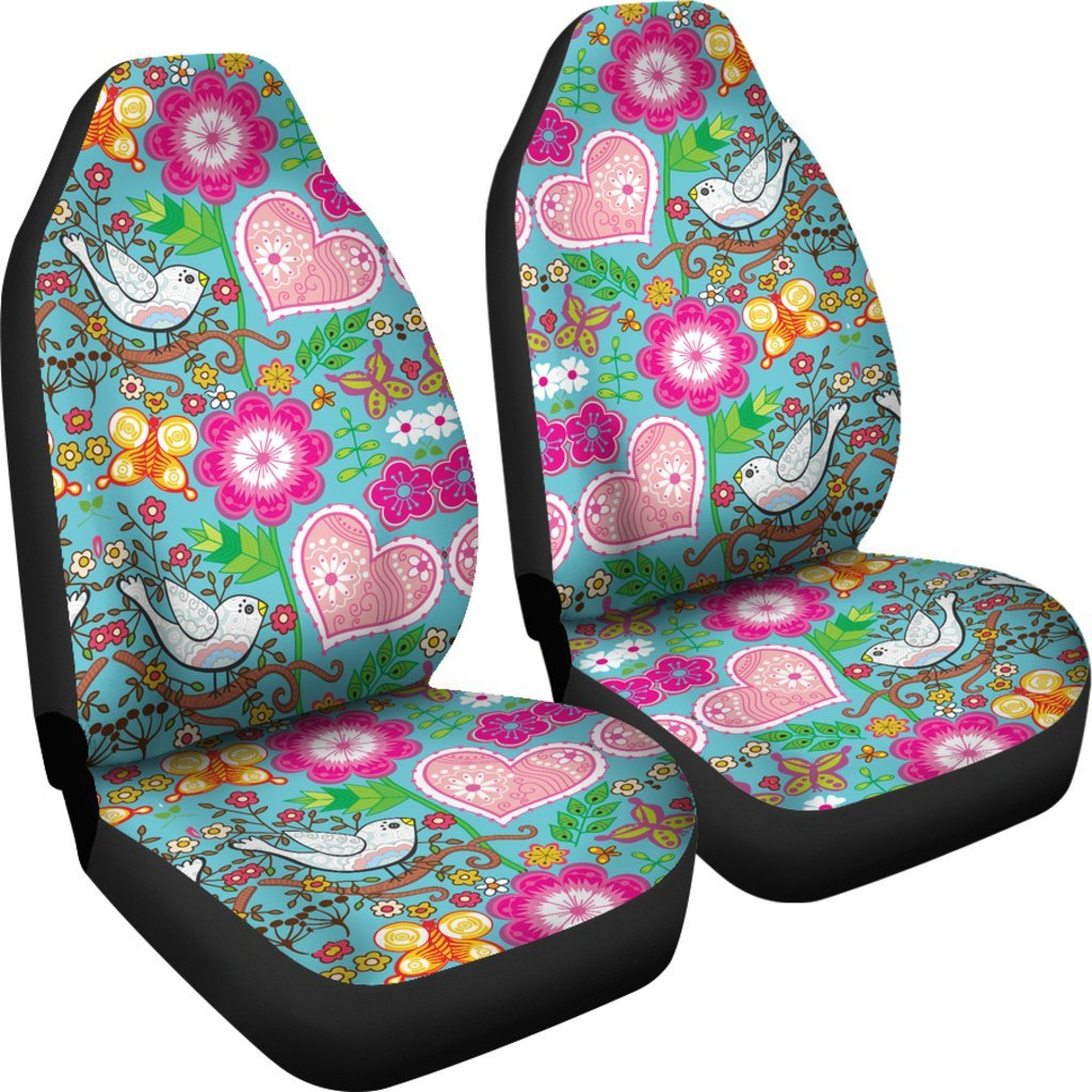 Love Birds Car Seat Covers