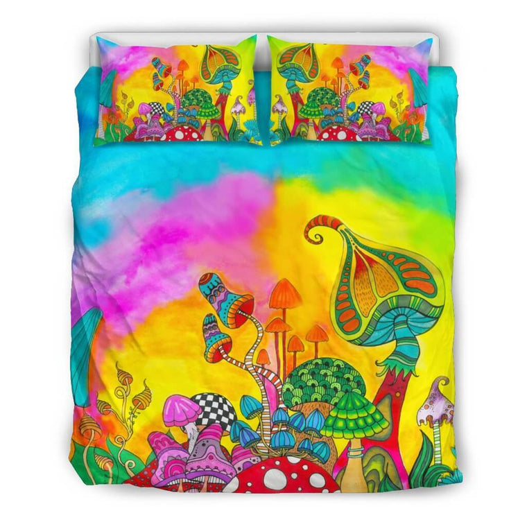 Magic Mushroom Bedding Set