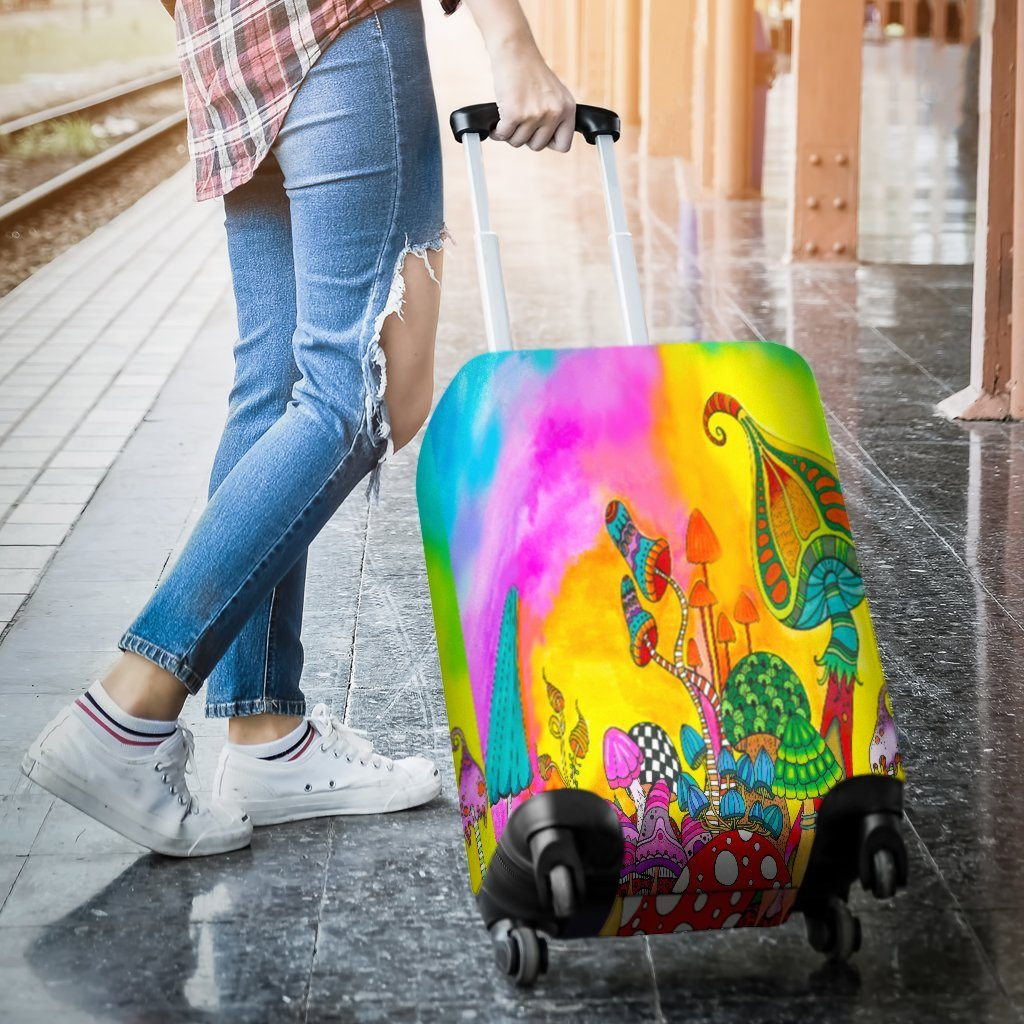 Magic Mushroom Luggage Covers