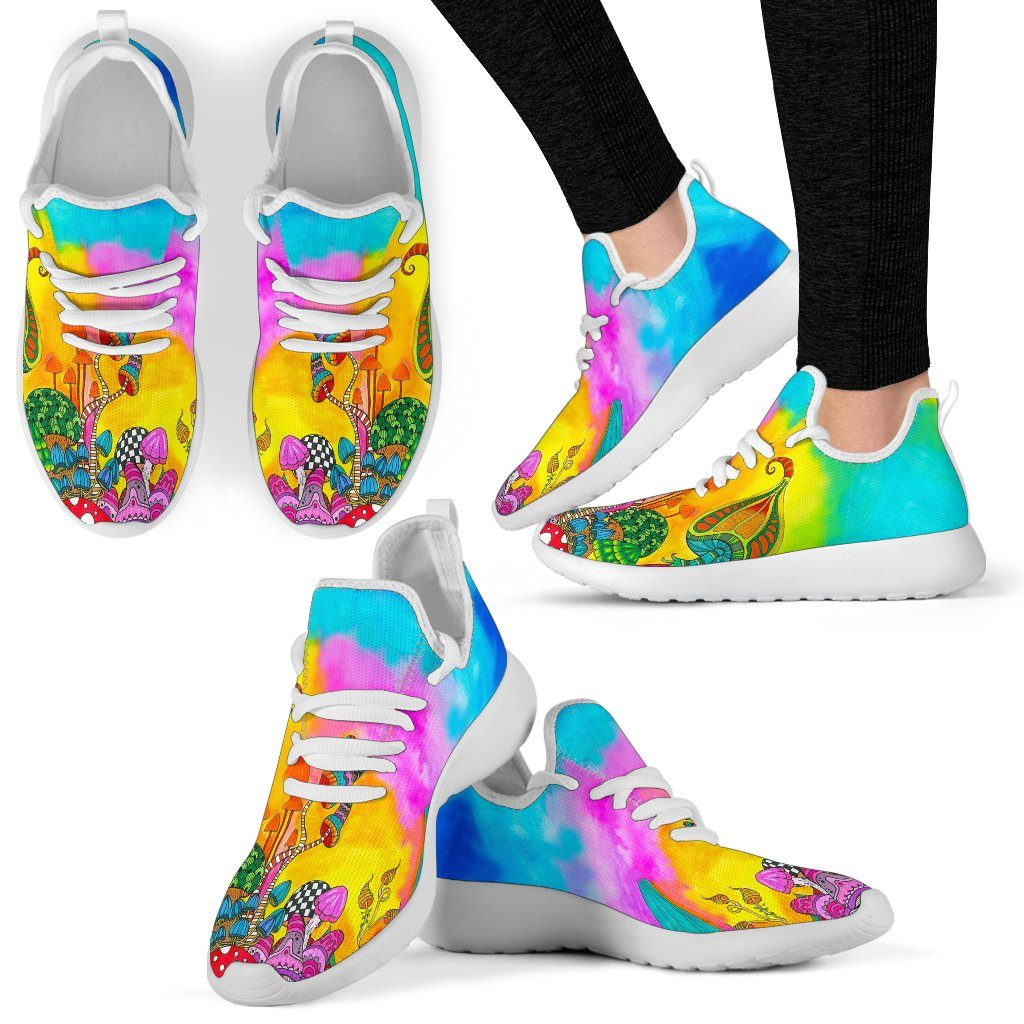 Magic Mushroom Mesh Knit Sneakers