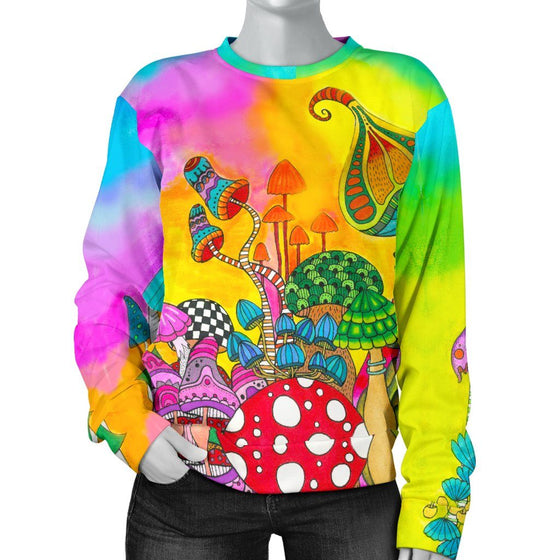 Magic Mushroom Sweater