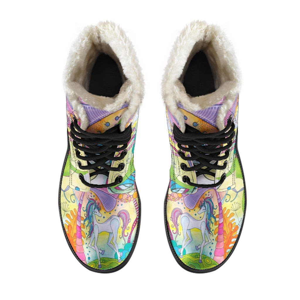 Magic Unicorn Winter Boots