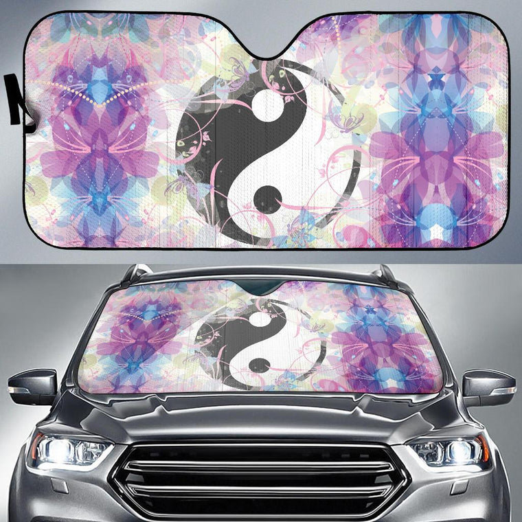 Magic Yin And Yang Auto Sun Shade
