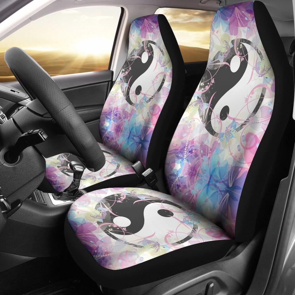 Magic Yin & Yang Car Seat Covers