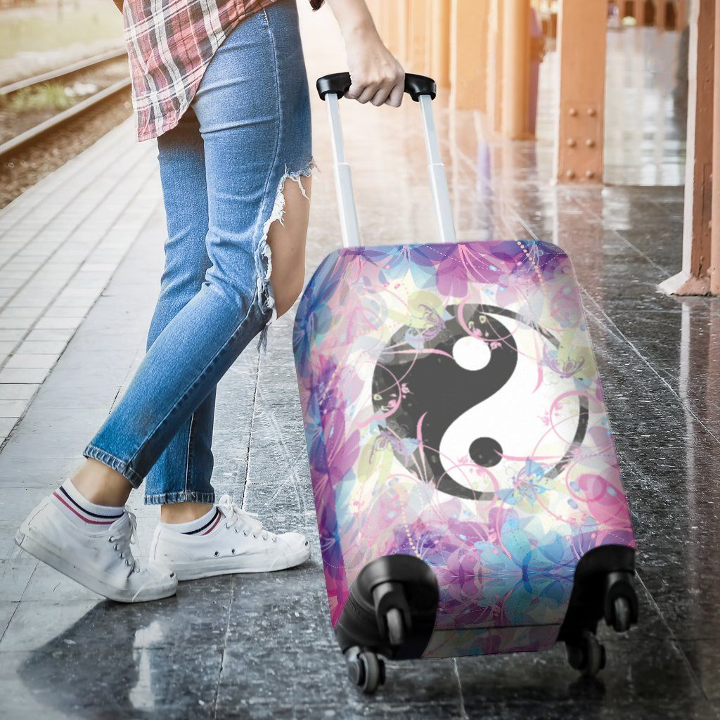 Magic Yin Yang Luggage Covers