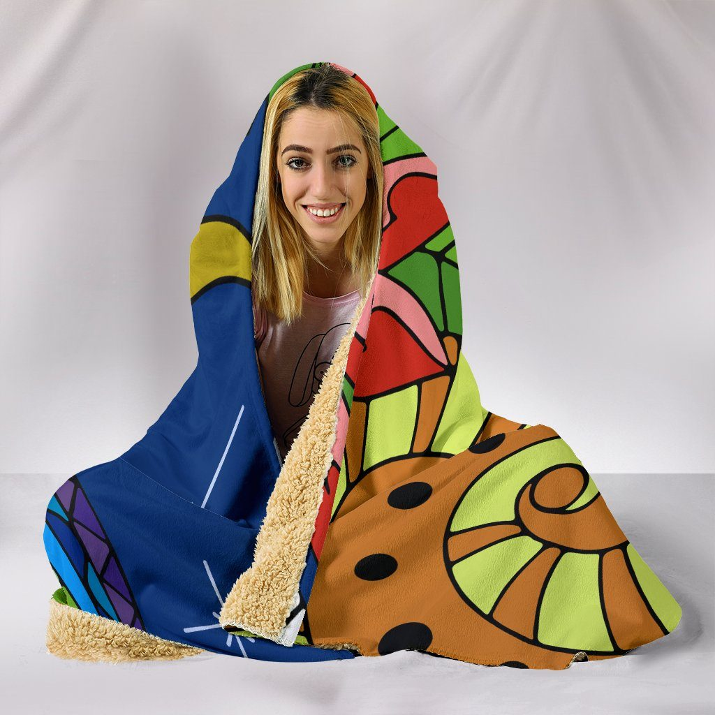 Moon Light Hooded Blanket