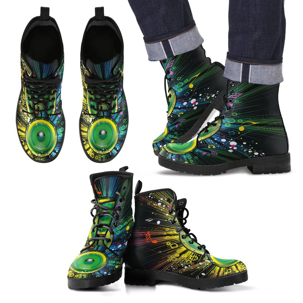 Music In Colors Men's Boots