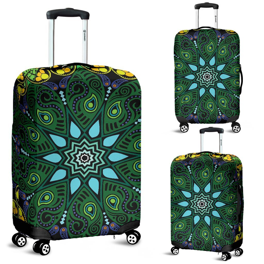 Nature Mandala Luggage Covers