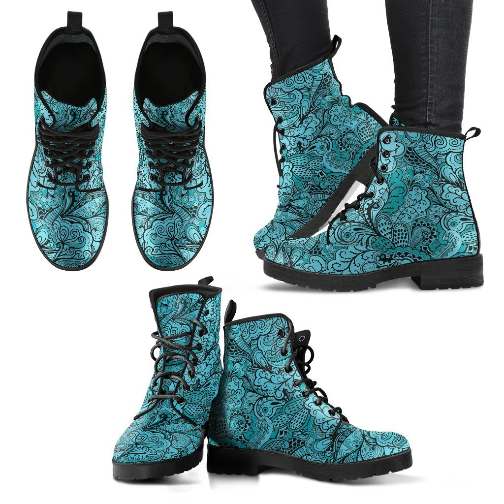 New Women Boots - Calm In Blue Boots!
