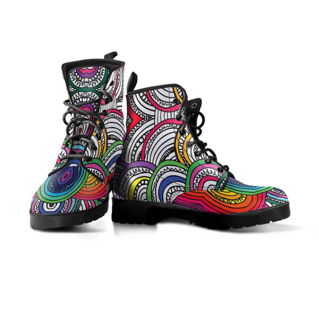 New Women Boots - Dance Of Colors Boots