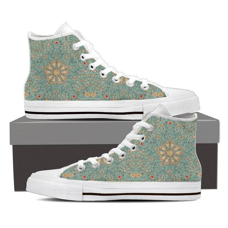 Peace Of Mind Mandala High Top