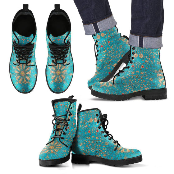 Peace Of Mind Mandala Men's Boots