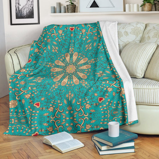 Peace Of Mind Mandala Premium Blanket