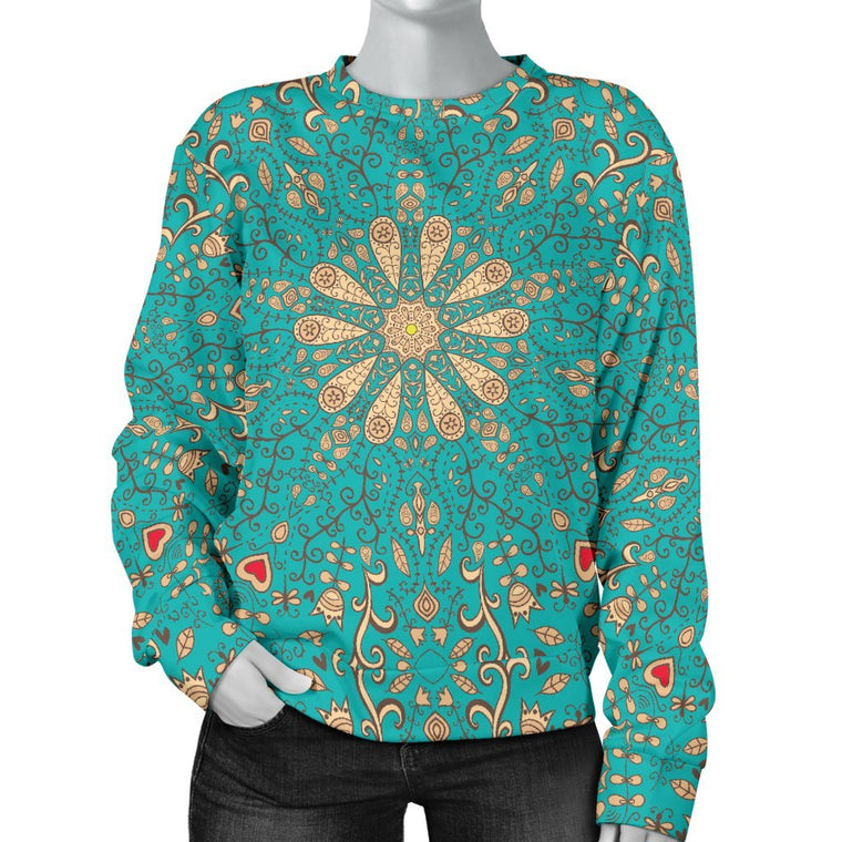 Peace Of Mind Mandala Sweater