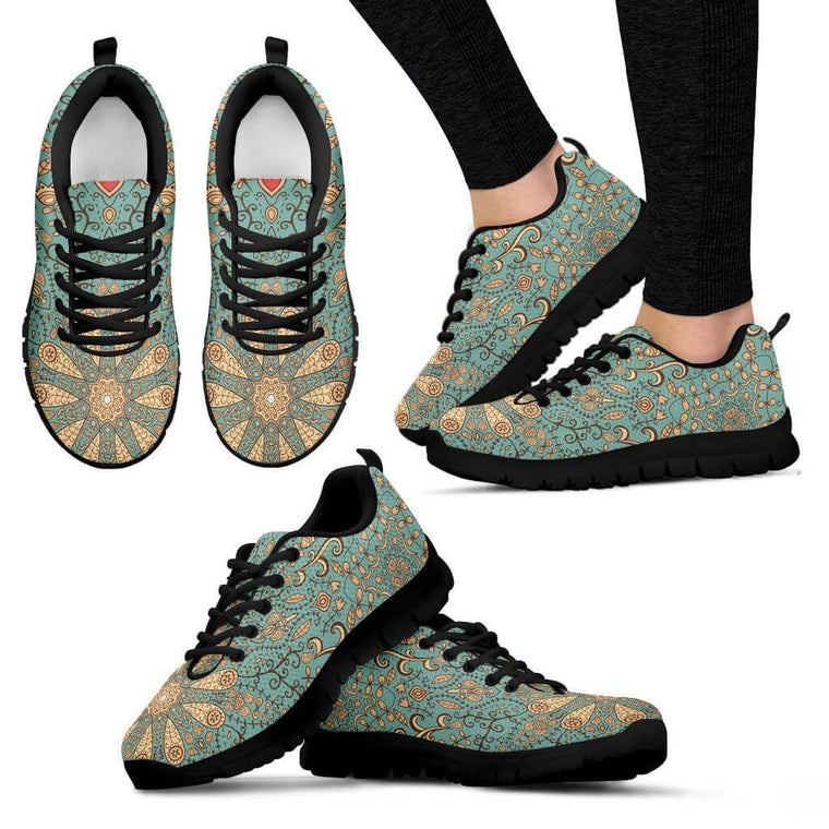 Peaceful Mandala Sneakers