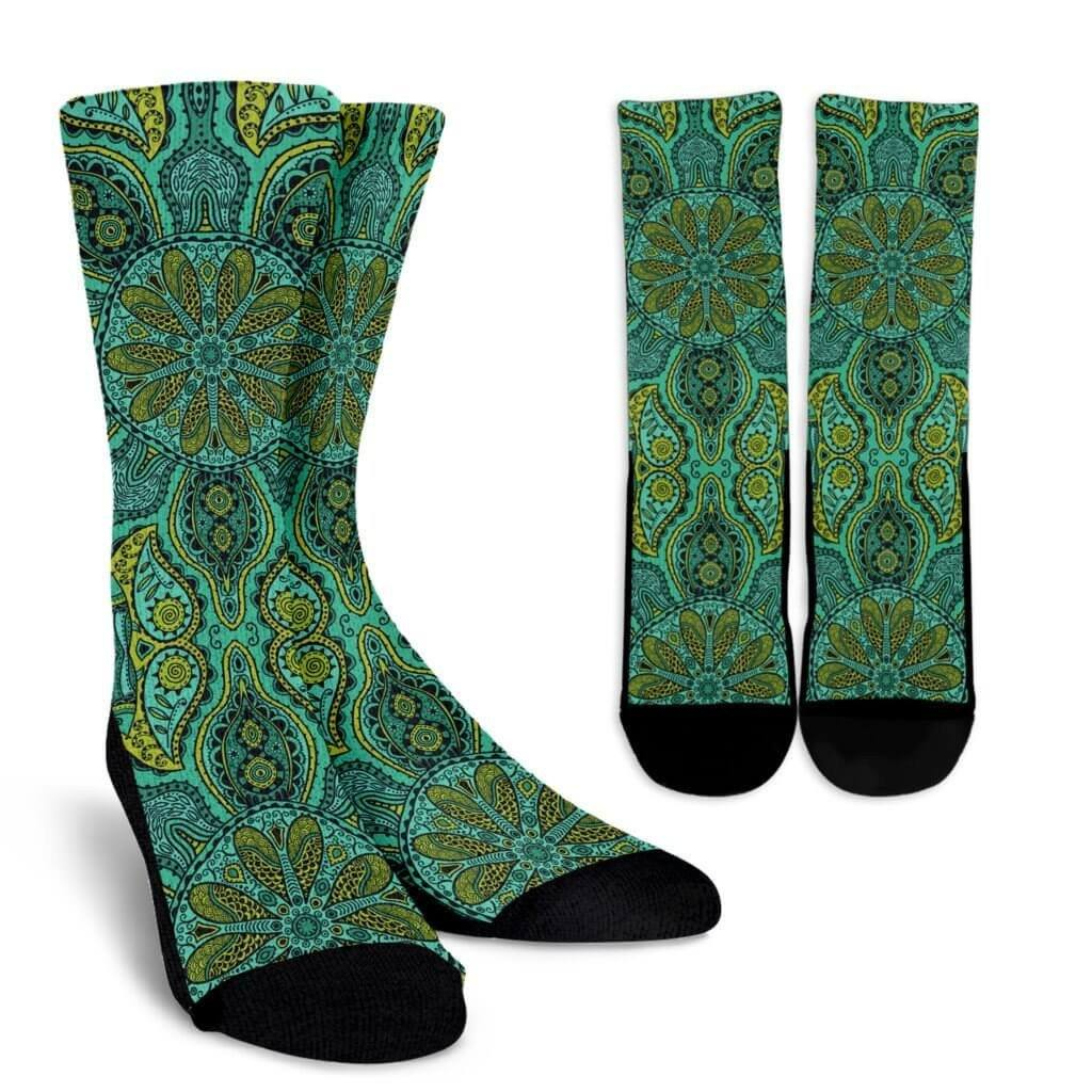Power Mandala Socks