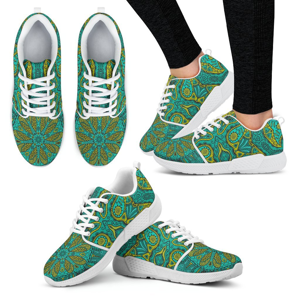 Power Mandala Women's Athletic Sneakers