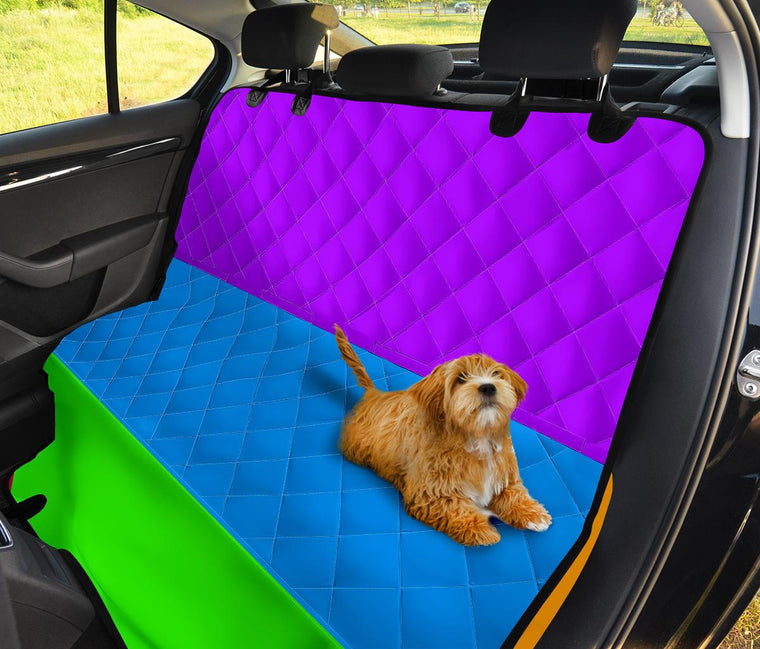 Rainbow Pet Car Seat Covers