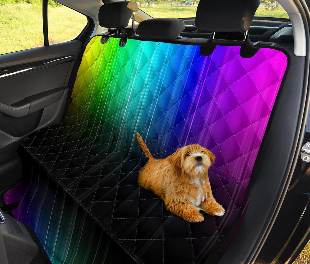 Rainbow Rush Pet Seat Covers