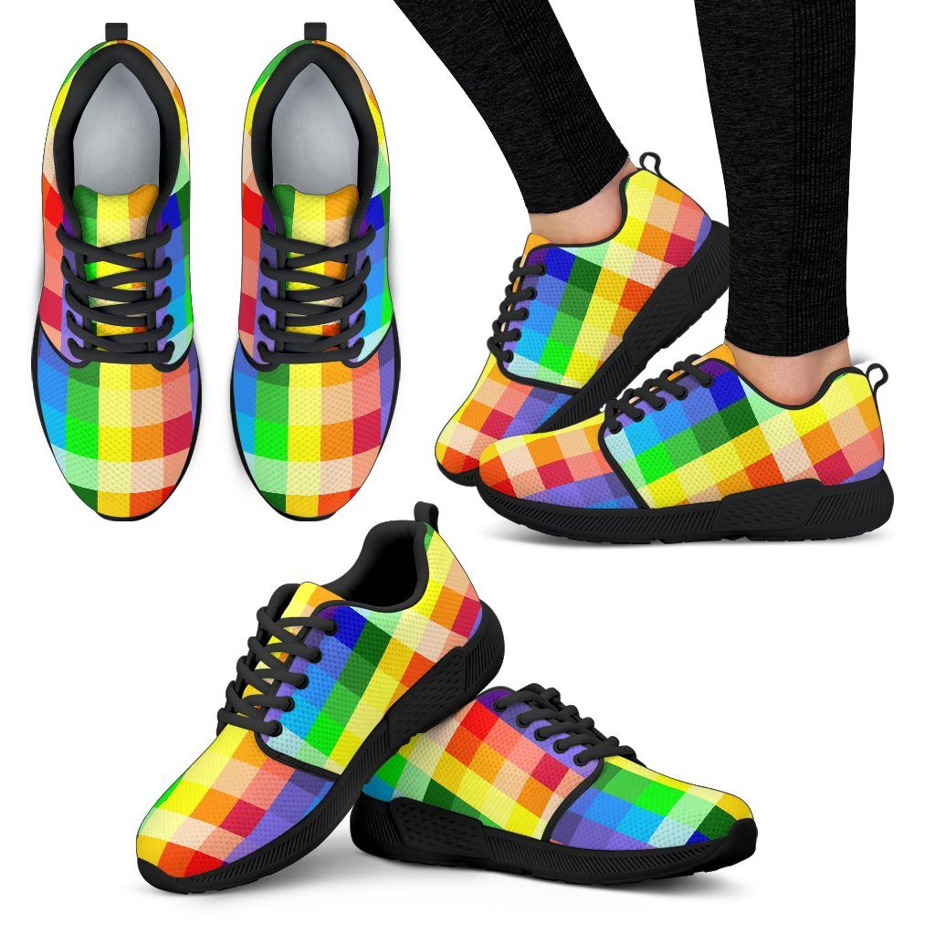 Rainbow Spectrum Women's Athletic Sneakers