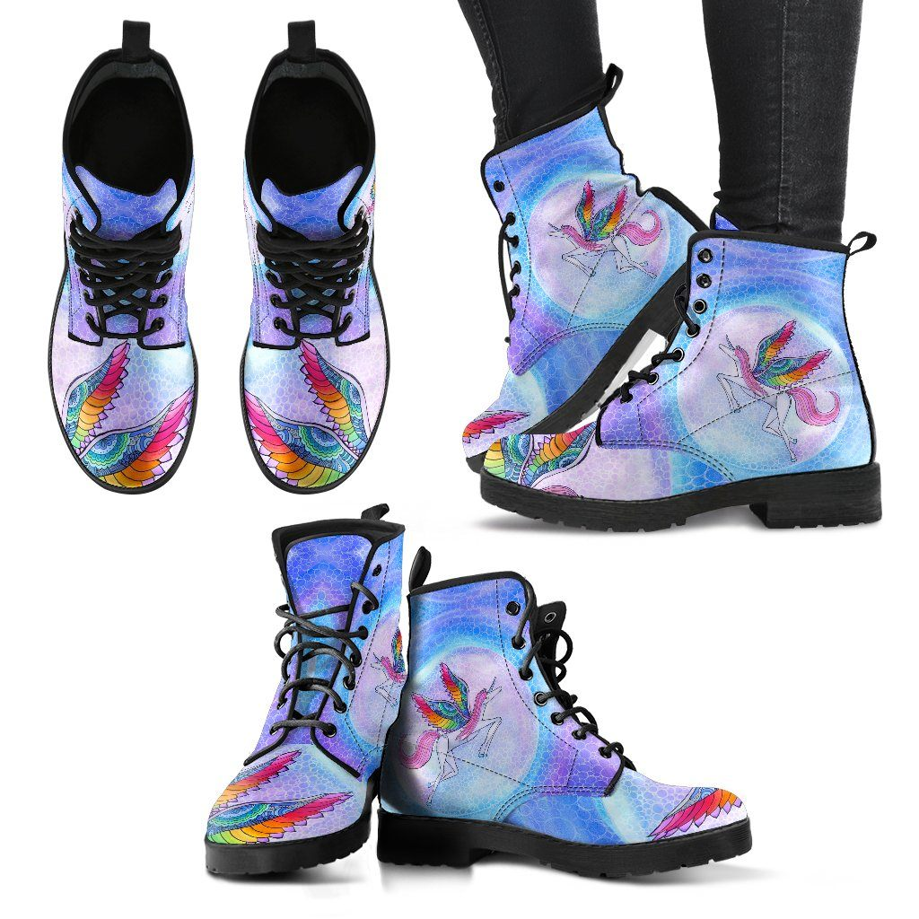 Rainbow Unicorn Boots