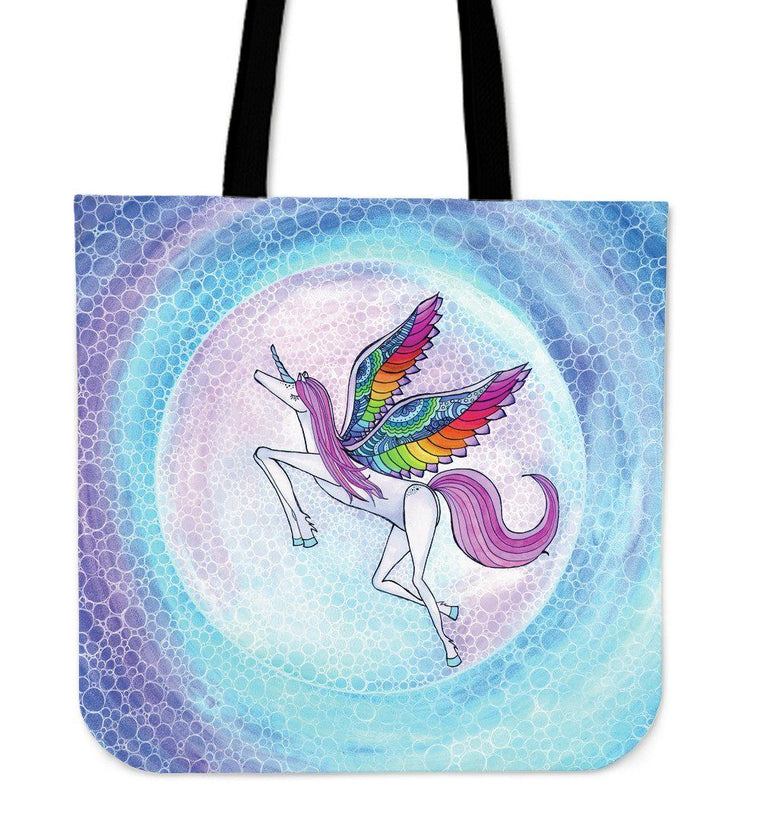 Rainbow Unicorn Tote