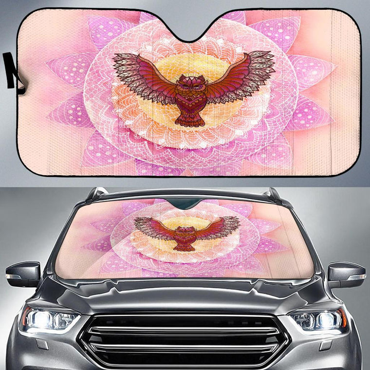 Red Owl Auto Sun Shade