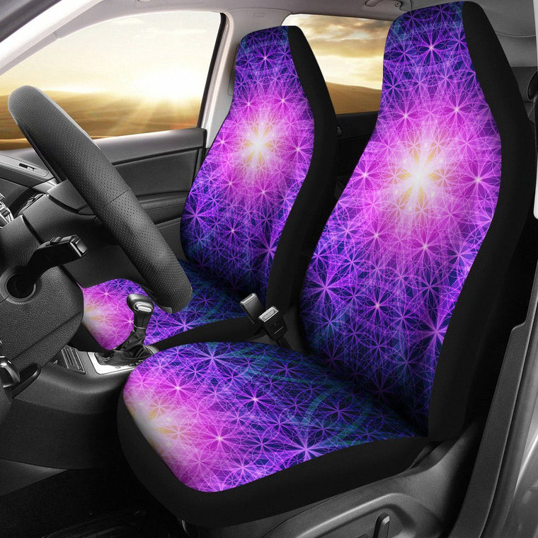 Sacred Geometry Car Seat Covers