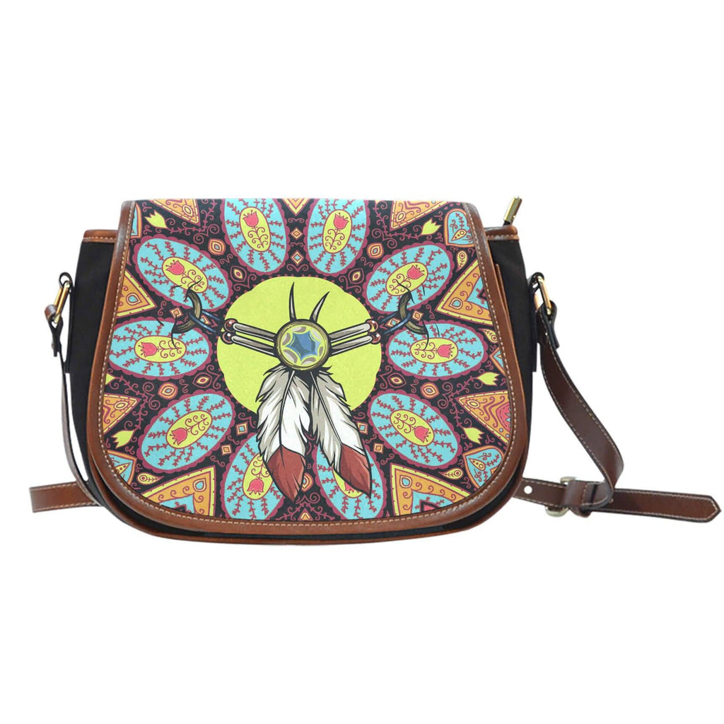 Saddle Bag - Indian Charm Saddle Bag