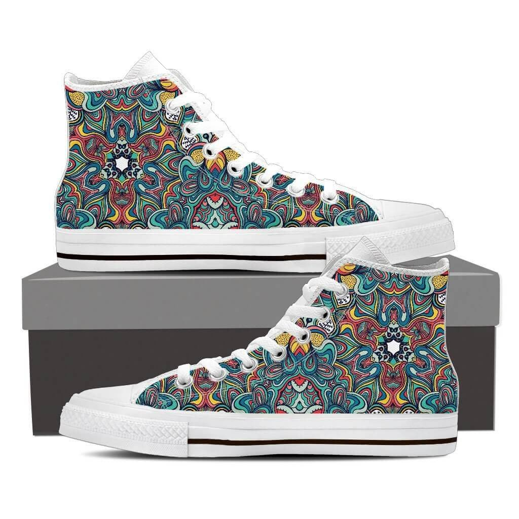 Shape Of Life High Top