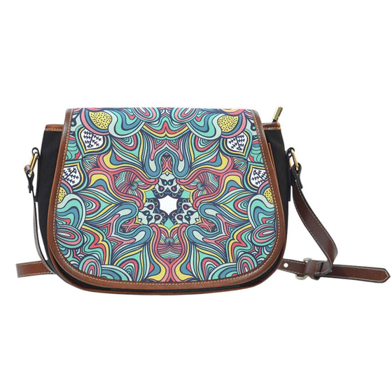 Shape Of Life Saddle Bag