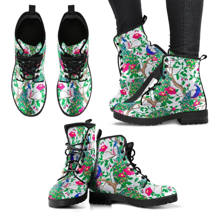 Shoes - Beautiful Peacock Boots