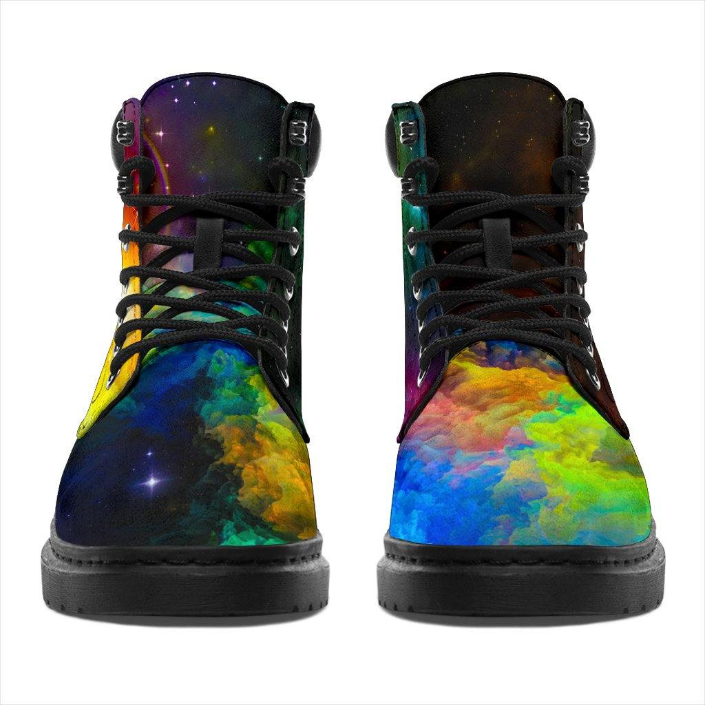 Shoes - Colorful Galaxy All Weather Boots