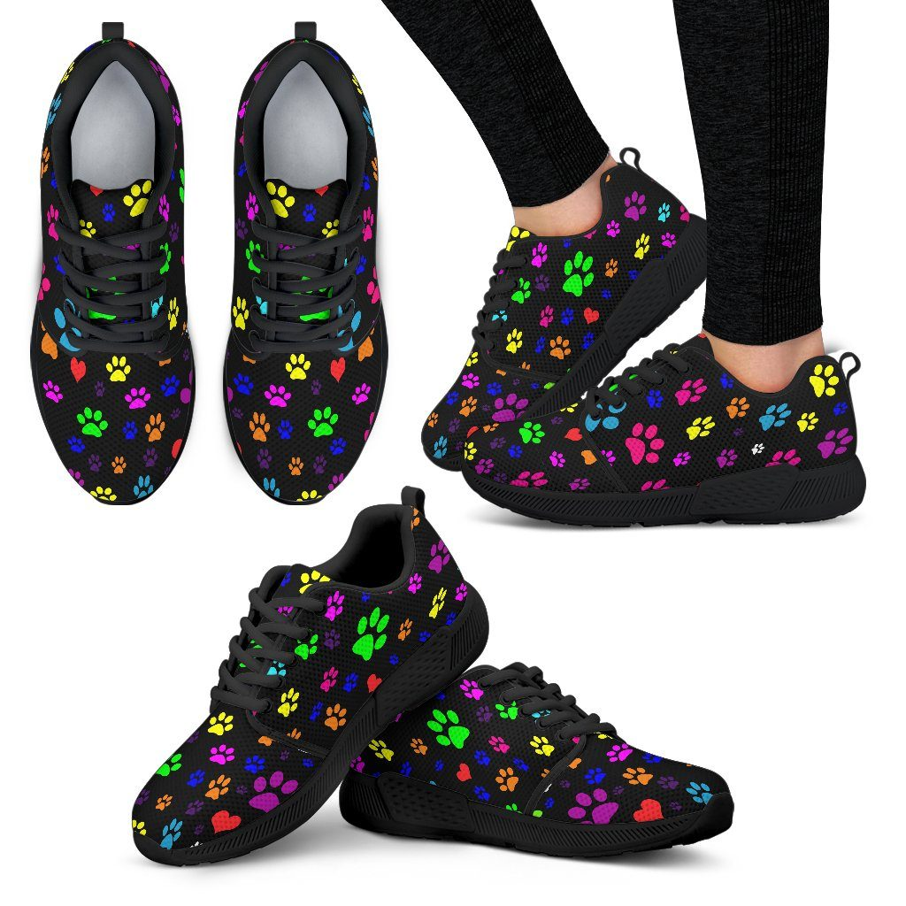 Shoes - Colorful Paws Athletic Women's Shoes