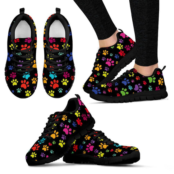 Shoes - Colorful Paws Sneakers