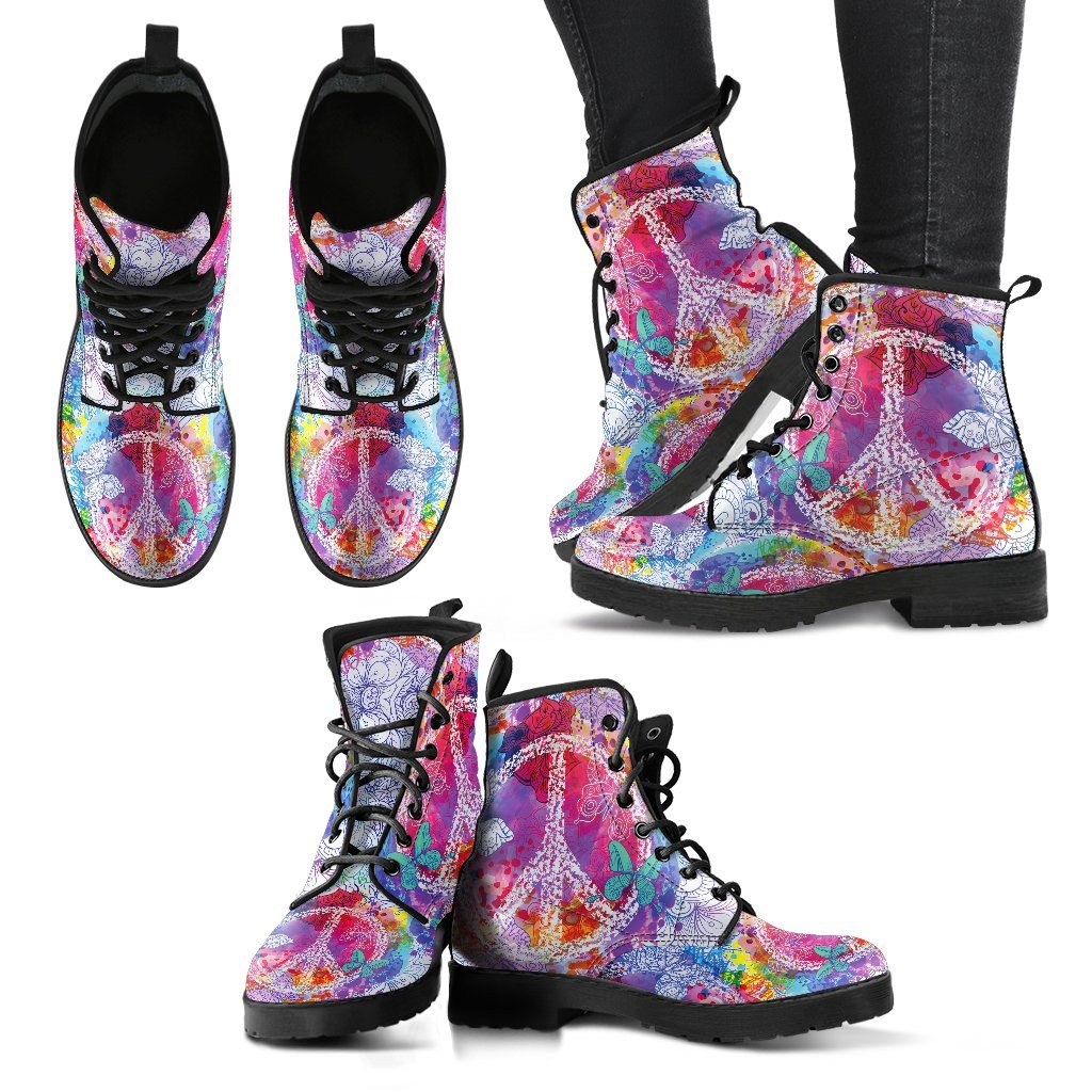 Shoes - Colorful Peace Boots