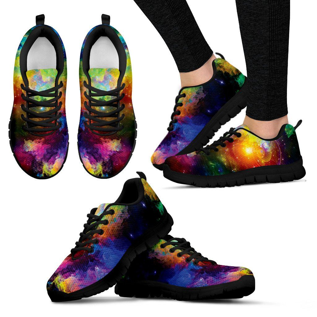 Shoes - Colorful Universe Sneakers