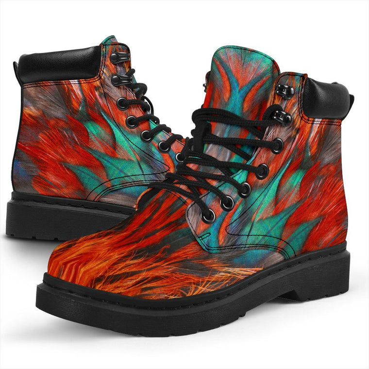 Shoes - Flame Feathers All Weather Boots