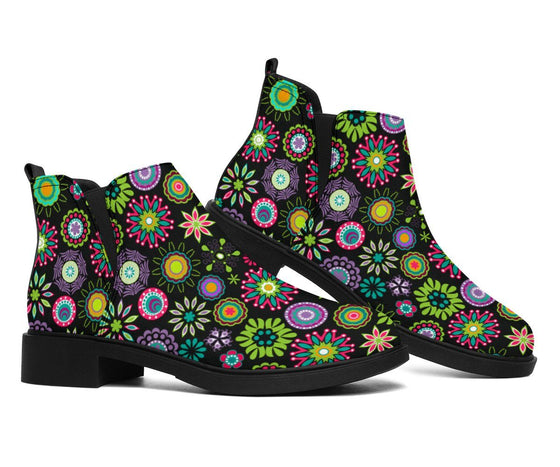 Shoes - Happy Flowers Fashion Boots