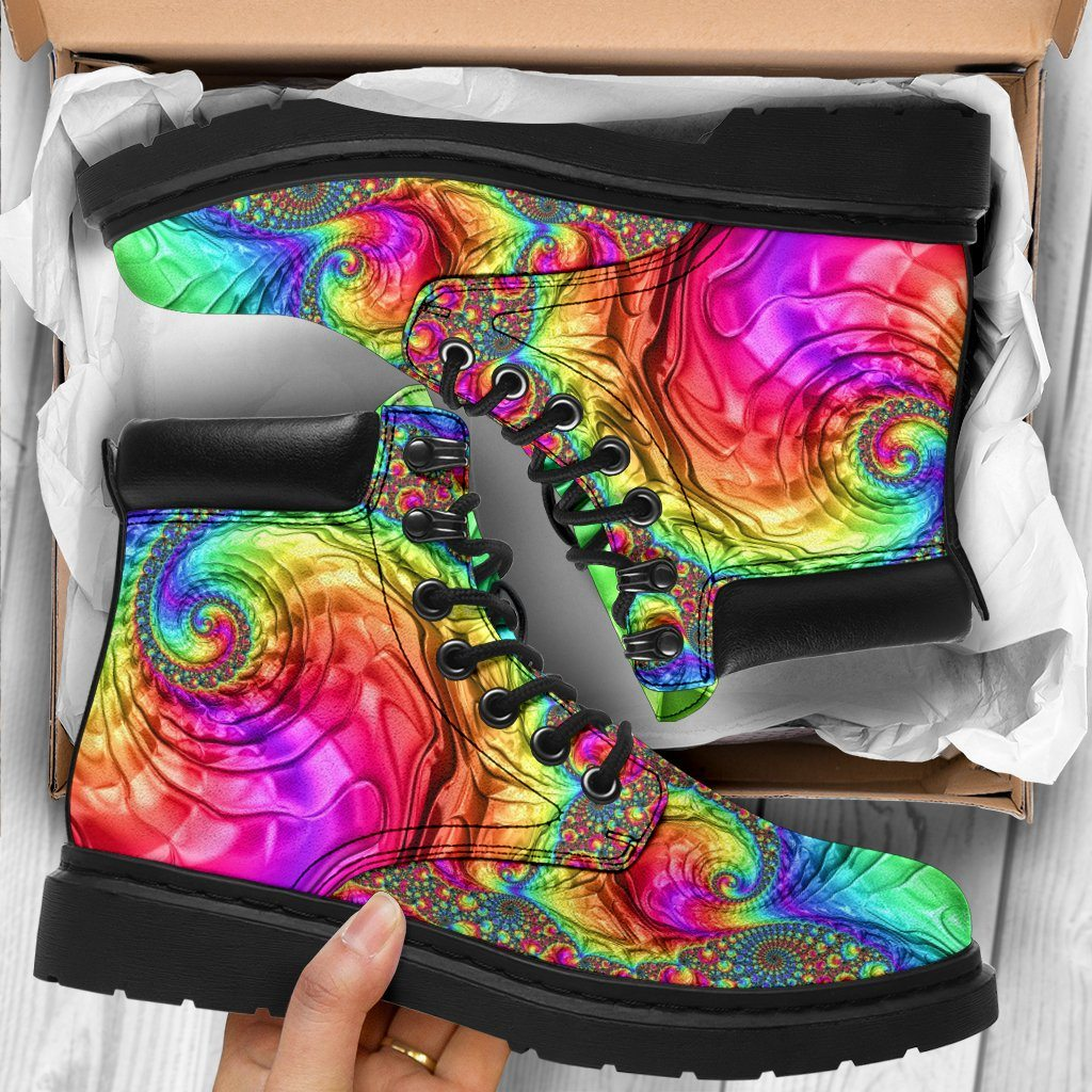 Shoes - Happy Rainbow All Weather Boots
