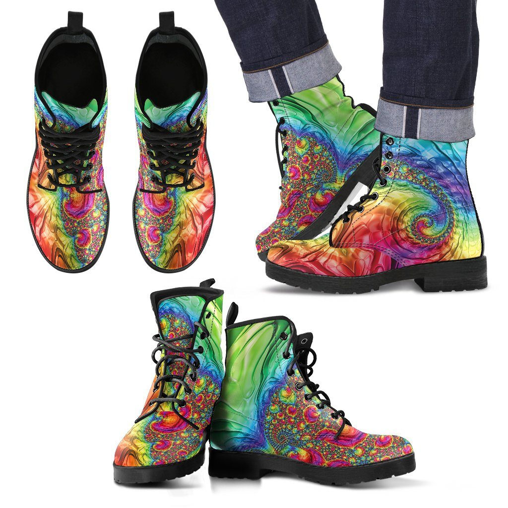 Shoes - Happy Rainbow Men's Boots