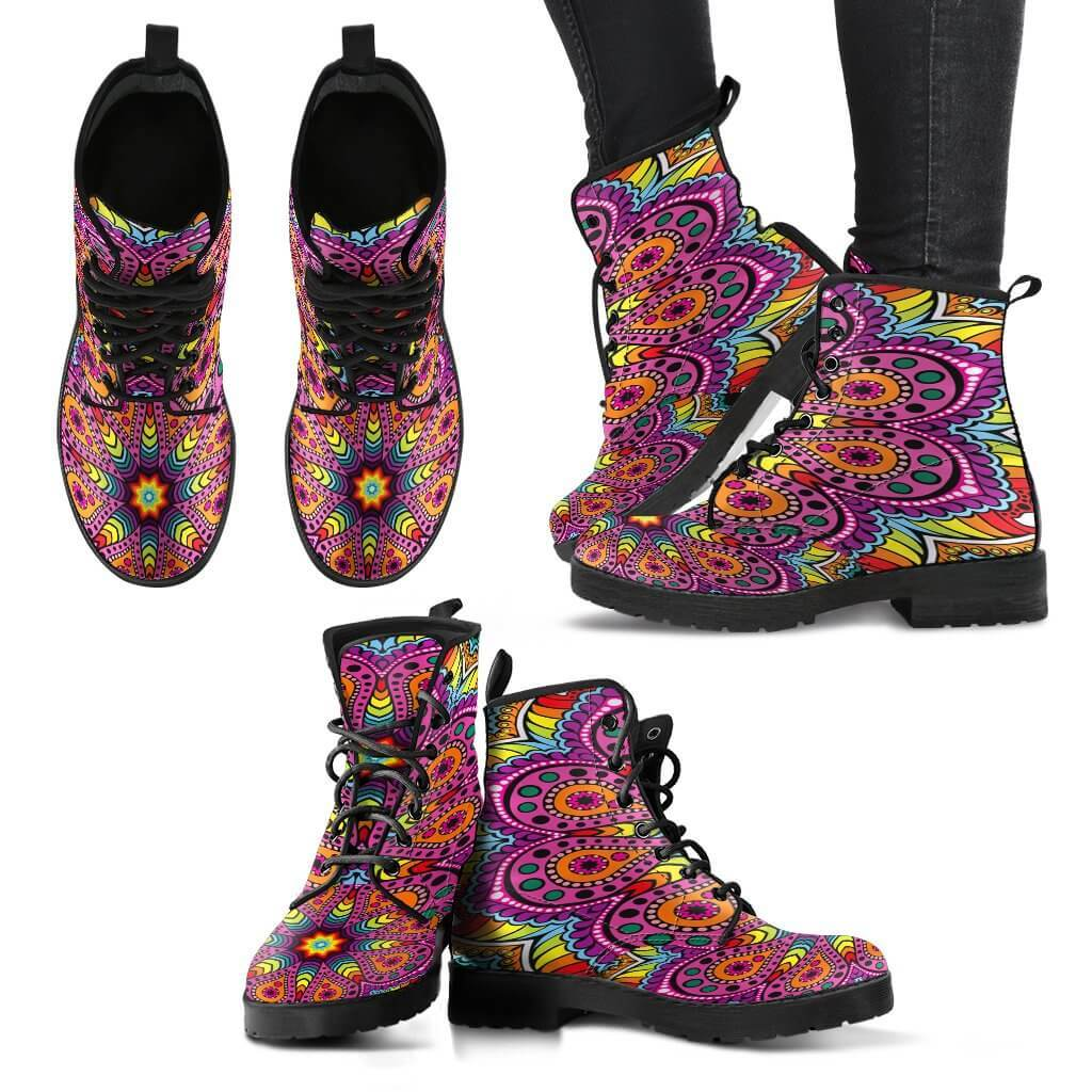 Shoes - Joy Of Life Mandala Boots