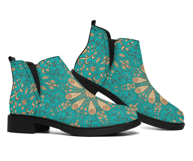 Shoes - Peace Of Mind Mandala Fashion Boots