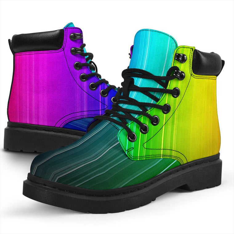 Shoes - Rainbow Rush All Weather Boots