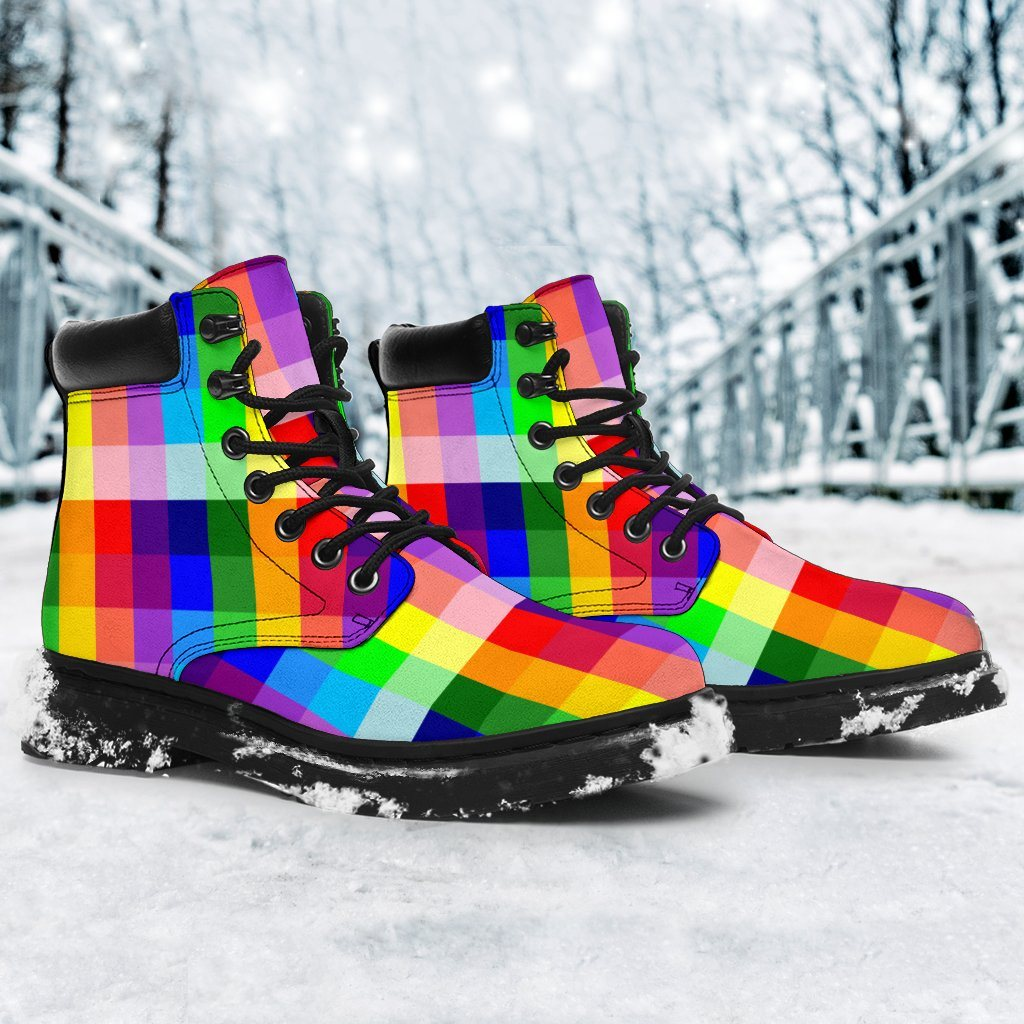 Shoes - Rainbow Spectrum All Weather Boots