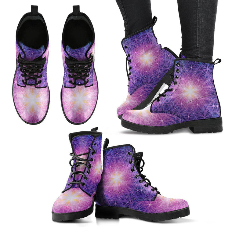 Shoes - Sacred Geometry Boots