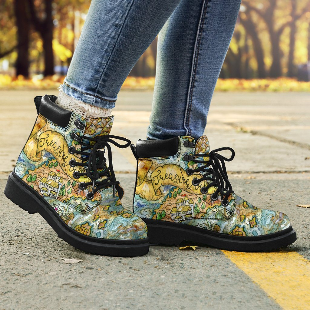 Shoes - Treasure Map All Weather Boots