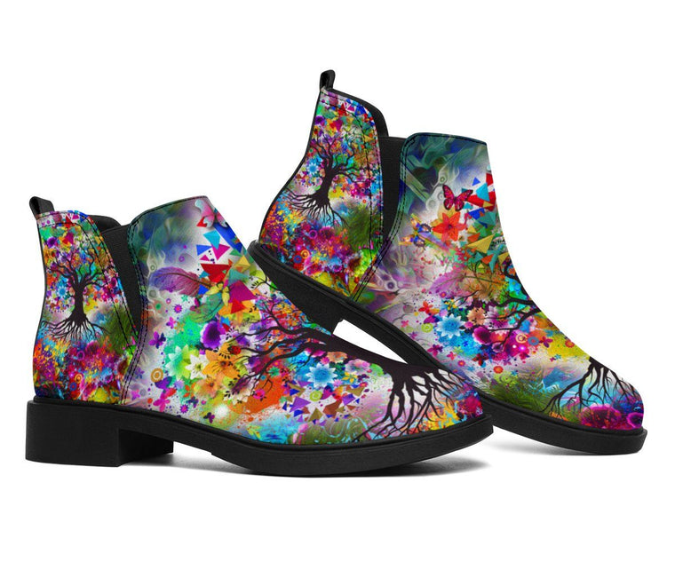 Shoes - Tree Of Life Fashion Boots